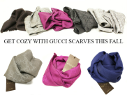 Gucci scarves at Queen Bee of Beverly Hills