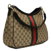 Gucci Web Hobo Handbag at Queen Bee of Beverly Hills